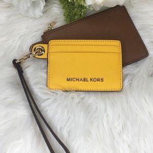 Michael Kors small card case wallet wristlet